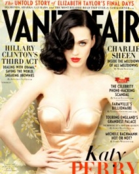 Katy Perry for Vanity Fair June 2011