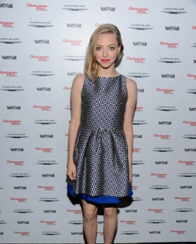 Amanda Seyfried in Christian Dior at the Vanity Fair Campaign Hollywood 2013