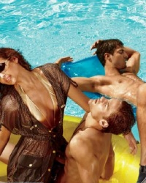 Armani Exchange's Summer 2011 Campaign