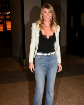 Ellen Pompeo Working Flares