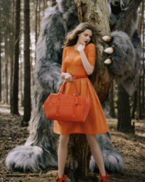 Super Sweet: Mulberry AW12 Campaign