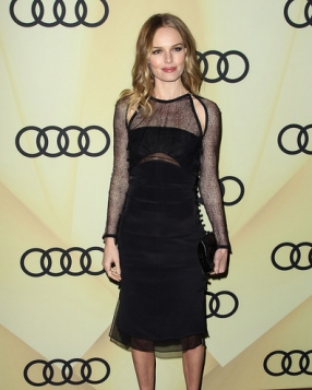 Kate Bosworth in Emilio Pucci at Audi's Golden Globes Party