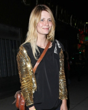 Mischa Barton at The El Rey Theatre.