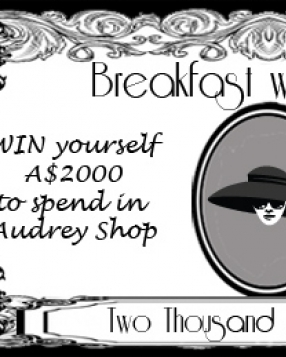 Win $2000 Audrey Dollars