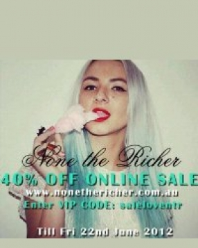 None The Richer Online Sale