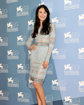 Olga Kurylenko in Emilio Pucci at the Venice Film Festival