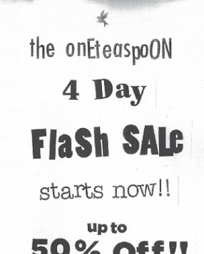 One Teaspoon E Boutique Flash Sale