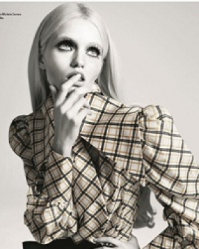 Abbey Lee Kershaw for i-D Magazine Autumn 2011