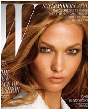 W Magazine's July Cover Girls: Karlie Kloss and Joan Smalls
