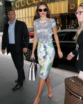 Miranda Kerr at David Jones in Sydney