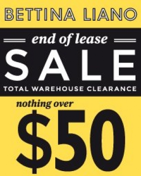 Bettina Liano Relocation Sale Melbourne