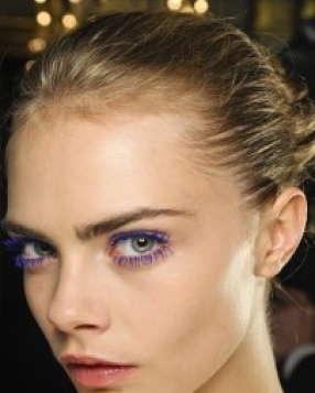 Fashion Week Beauty: Into The Blue