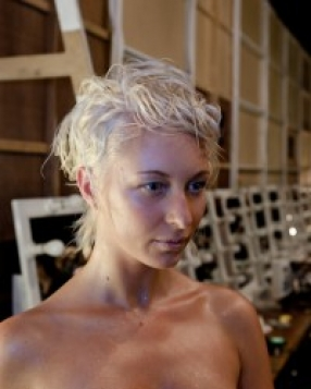 Backstage Beauty: Napoleon for Bowie at MBFWA