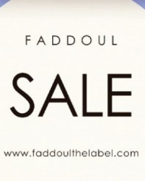 Faddoul End Of Season Sale Online