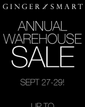 Ginger & Smart Sydney Warehouse Sale