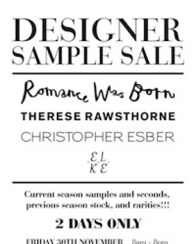 Romance Was Born, Therese Rawsthorne, Christopher Esber & Elke Kramer Sale