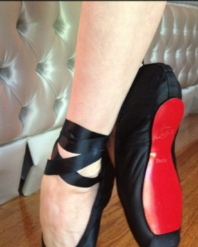 Custom Christian Louboutin's For Dita Von Teese